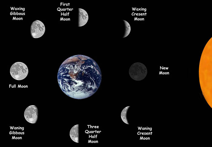 Printable Phases Of The Moon | Calendar Template 2016