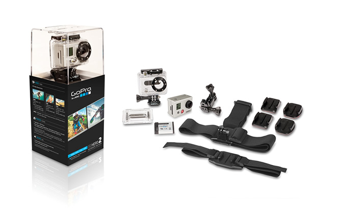 Review: The latest from GoPro, HD Hero2