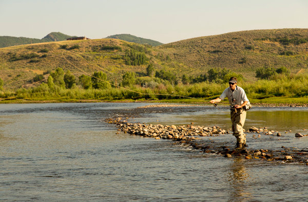 Fishing Freshwater Casting In Colorado Away From The
