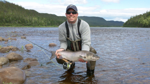 Atlantic salmon, an obsession oft addictive, for which no one seeks a cure
