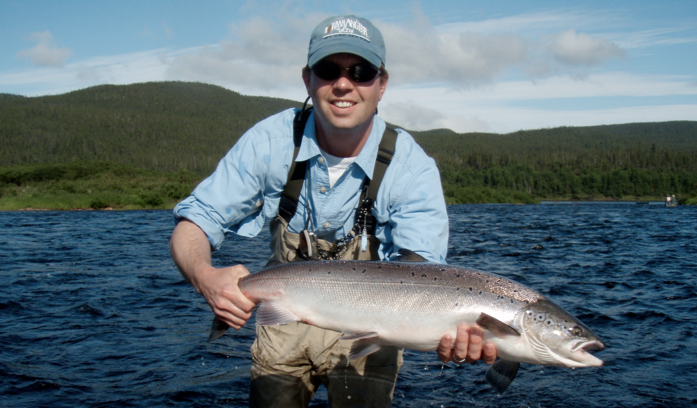 Destination: St. Paul's River for salmon in Quebec
