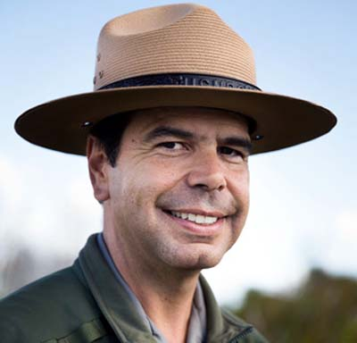 Pedro Ramos, the new Everglades National Park supt. has made great to improve the ENP experience, and done so without an obliging congress. ENP image.