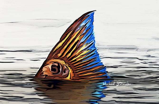 Palettes & Pixels: Mike Bainter, Artist, Graphic Designer, Innovator, Angler