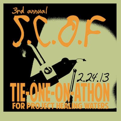 """News: 3rd Annual """"Tie One On Athon"""" for Project Healing Waters"""