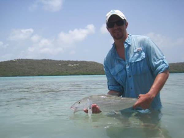 Andy with a Culbera bonefish