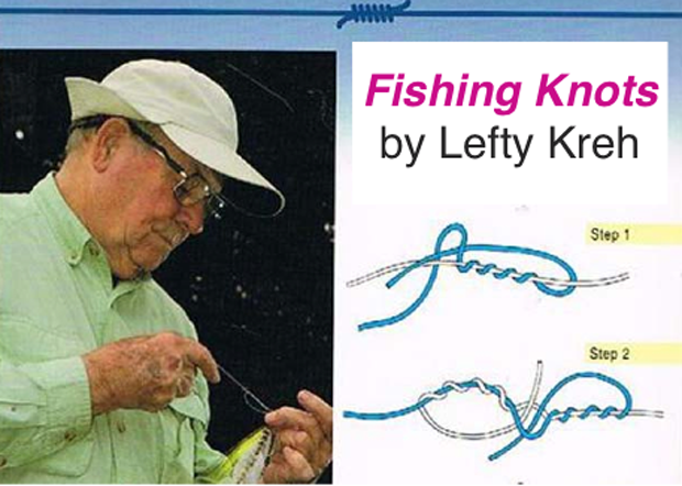 Tips & Tactics: Use the Hemostat Knot with differing line diameters or materials