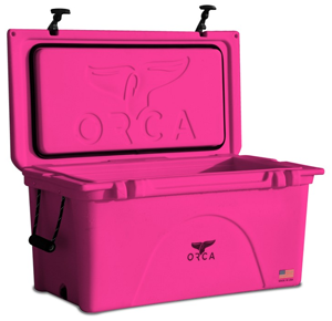 Ocra cooler in one of four coolers.