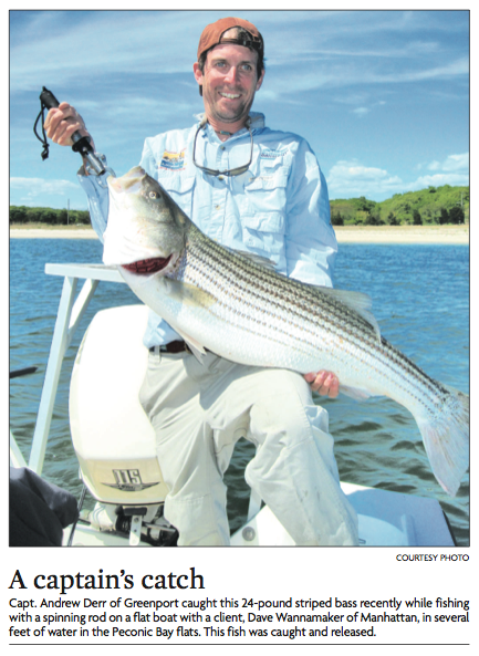 Photograph from The Suffolk Times, June 3, 2010.
