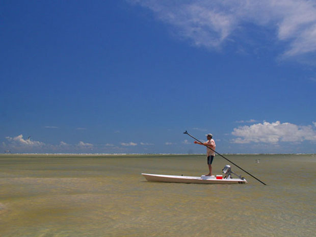 Take me to The Bahamas and I'll fish all day in places no one has ever seen.