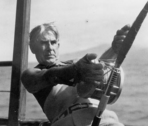 Feature story zane grey was the initiator of light for Capt harry s fishing supply