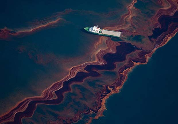 Aftermath of BP Deepwater Horizon oil spill in the Gulf Of Mexico. Photo Nature.org