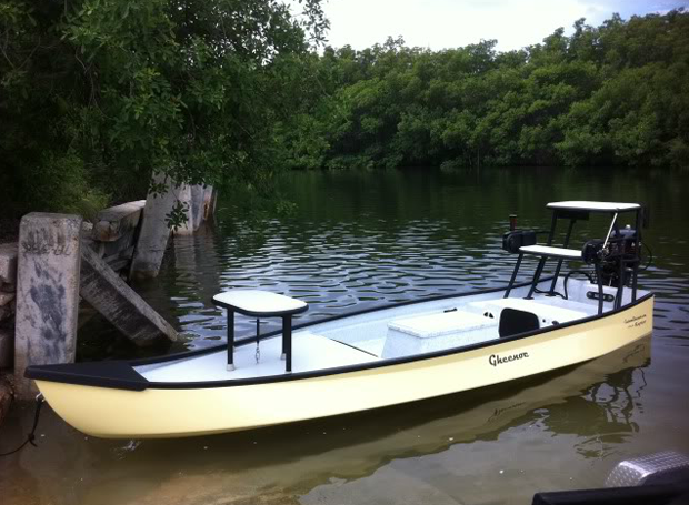 Moday Gear Review: Gheenoe Low Tide 25 is a low cost skiff with a good attitude
