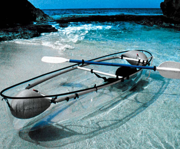 Monday Gear Review: Transparent canoe – see more catch more