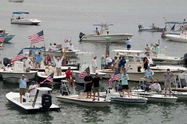 News: Keys fishing guides protest Everglades National Park closure