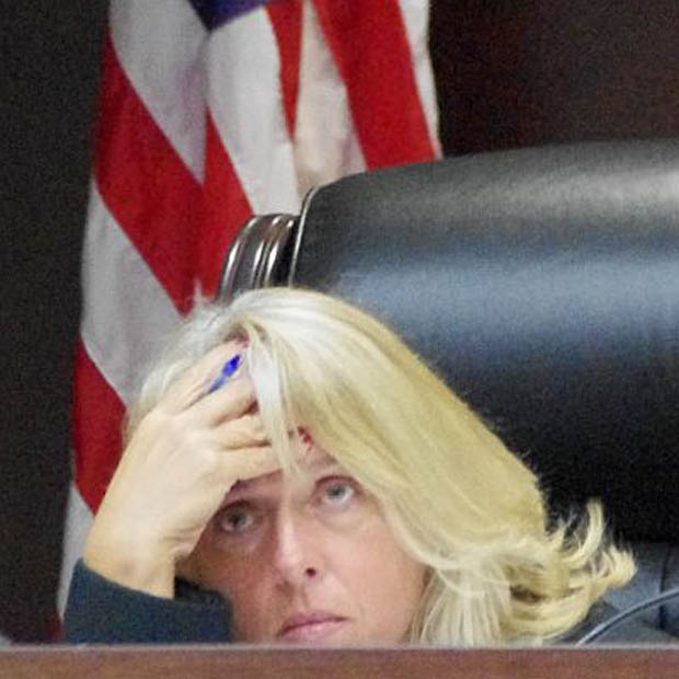 Real controversial Leon County, Florida's Judge Jackie Lee Fulford. She's against the will of the people.