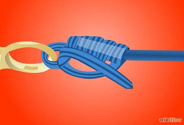 Video: Clinch Knot hemostats trick