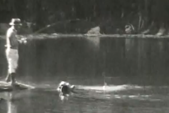 Video Roundup: Walking Man, Making Graphite Fly Rods, Fly Fishing 1930