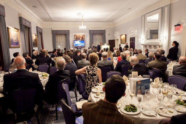 Packed house for a great cause (photo by Brendan McCarthy)