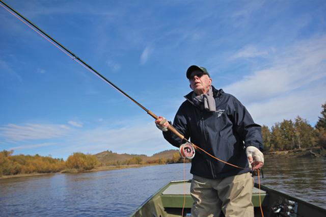 Of Interest: Jimmy Carter on fly fishing for taimen