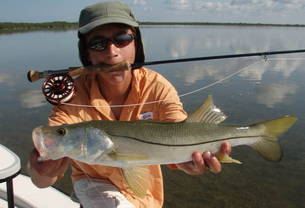 South Florida. Capt. Dave Hunt, an ORVIS endorsed guide.