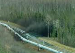 This is what is guaranteed to happen over and over again in a tar sands pipeline, and here's why: Any Enbridge single cased metal pipeline that forces tar gunk from shale sources continuously wears away. Rocks and grit embedded in the thick tar gunk, lubricated by  water to help the stuff flow, will eventually burst through the metal casing. This aggregate files grooves into the pipe metal or any material. When one section bursts, as shown above, reqires that section is replaced, there are near and distant sections will keep bursting when the flow and pressure is resumed. And here's the travesty of it all:  The principal contractor with the largest share of earnings has no liability having offloaded it to the lesser players. Civic and state authorities have no profits or funds sufficient out of their share, if any, to repair the enduring pollutionscape.