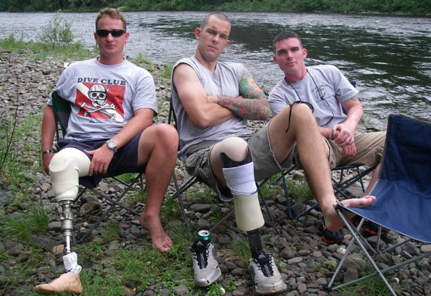 Participants at last year 2-Fly Tournament. A Project Healing Waters photo.