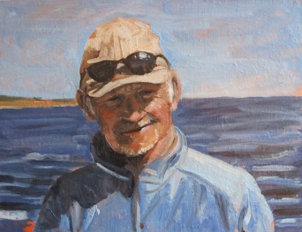 "John Hall 10"" x 8"" Oil on Canvas board"