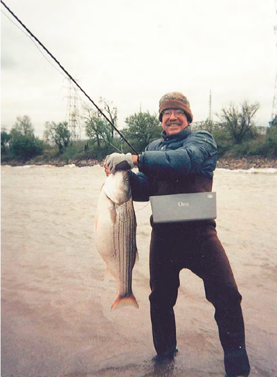 Friday fish frame meet fly angling sculptor roger fowler for Oklahoma trout fishing