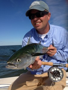 FLM contributor, Brooks Paternotte, with a nice specimen from the 2012 season