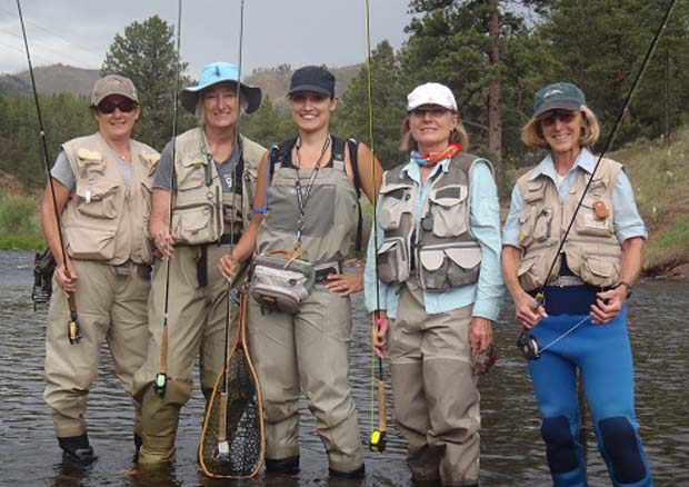 Across the country Trout Unlimited chapters are actively engaging women into our conservation work.