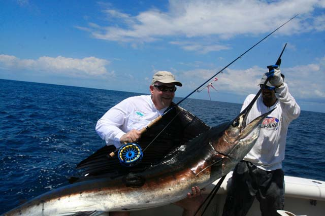 Top Gun: Catching the incredible sailfish on a fly