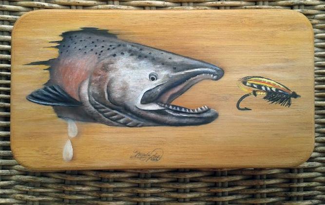 Friday Fish Frame: Angela Lenz