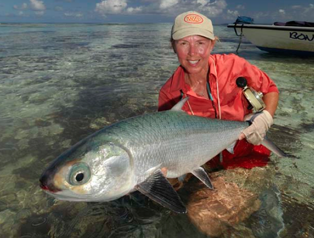 The Series: Important women in the history of fly fishing; Cathy Beck
