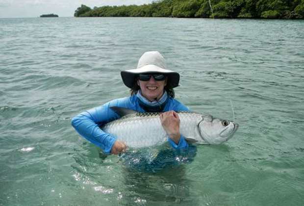 News: Wanna' fly fish Belize for a week for free?