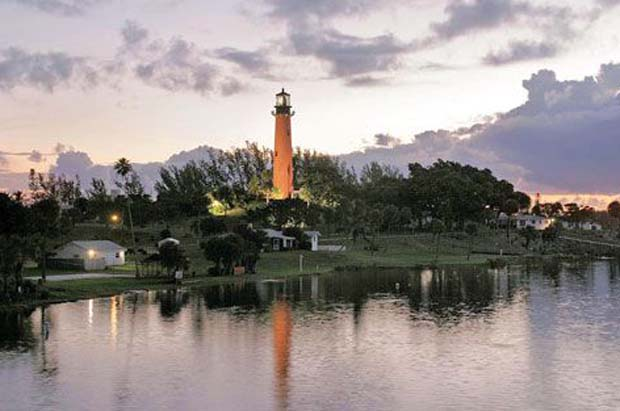 The Jupiter Inlet Lighthouse.  (Jim Johnston, courtesy Laxahatchee River Historical Society). On May 8, 2008, Public Law 110-229 designated south Florida's Jupiter Inlet Lighthouse Outstanding Natural Area (ONA) as part of the Bureau of Land Management's National Landscape Conservation System (NLCS).