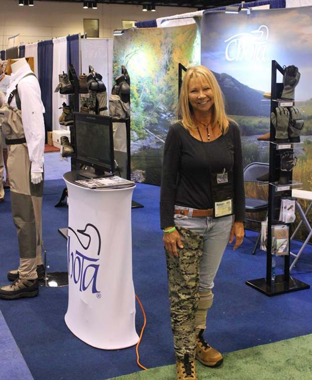 Wanda at the ICAST Show 2014.