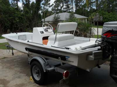 The most common trailer is a problem when shallow launching.