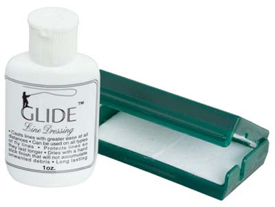 The UMPQUA GLIDE LINE DRESSING BOX is $6 anywhere you purchase it.