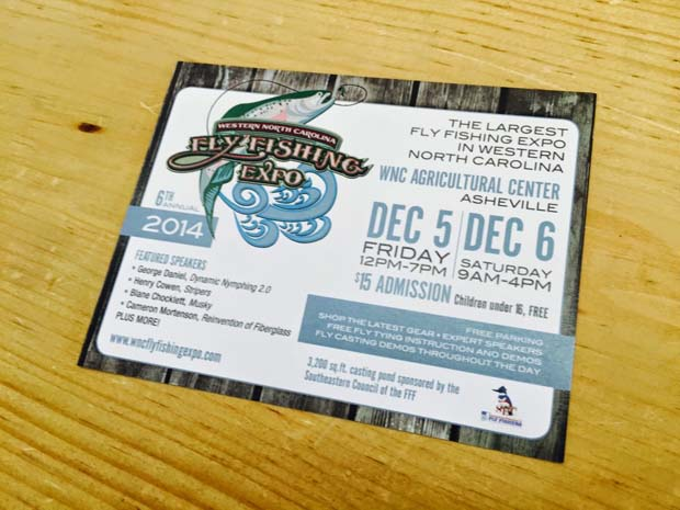 Industry News: 2014 WNC Fly Fishing Expo December 5 & 6 in Asheville, NC