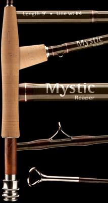 Mystic Reaper sports fine craftsmanship.