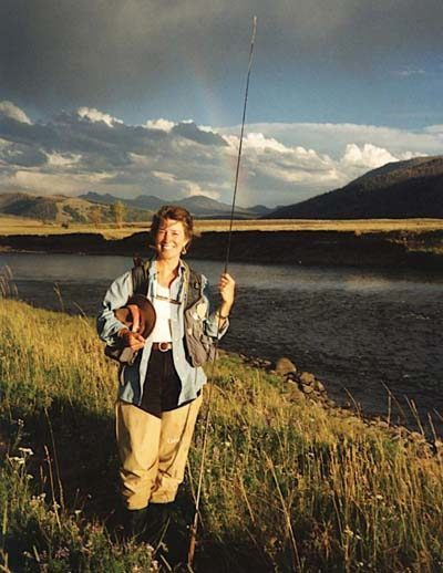 the series: important women in the history of fly fishing; nancy, Fly Fishing Bait