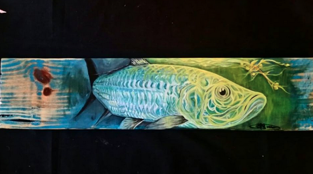 Friday Fish Frame: Bernard Barrios