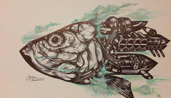Robo-poon. By Bernard BArrios.