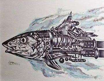 Robone. By Bernard Barrios.
