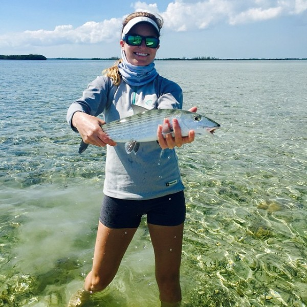 Bonefishing in the Bahamas.