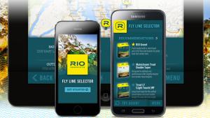 RIO Fly Libe Selector App.
