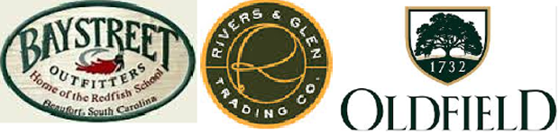 The Low Country fly Fishing Expo sponsors. Bay Street Outfitters River & Glen OldField Club