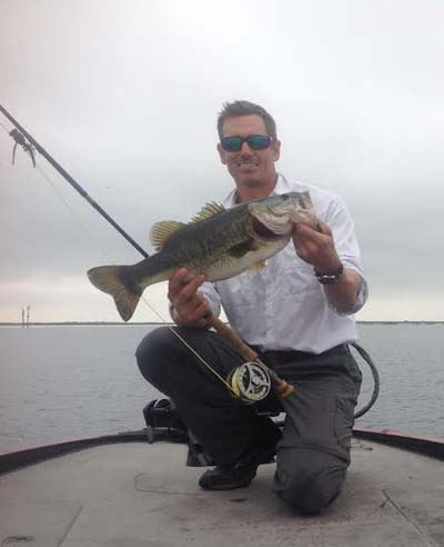 "Just the other day on Lake ""O."" Thadeus said top water poppers were the day's au gratin."