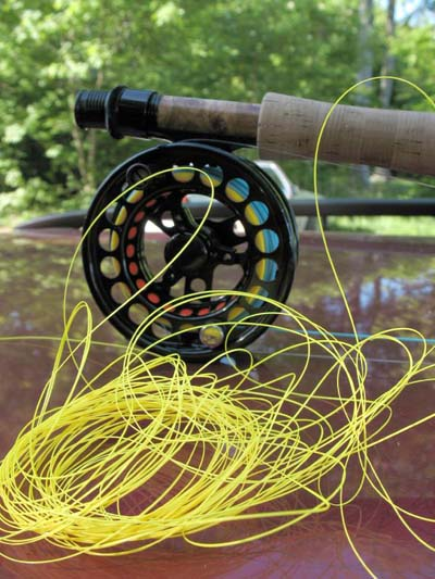 Thin shooting lines seem more prone to tangles. Photo by globalflyfisher.com.