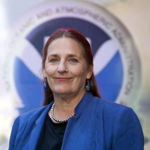 NOAA Fisheries Administrator Eileen Sobeck
